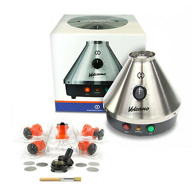 Volcano Classic with Starter Set - Easy Valve 100% Authentic by Storz and Bickel