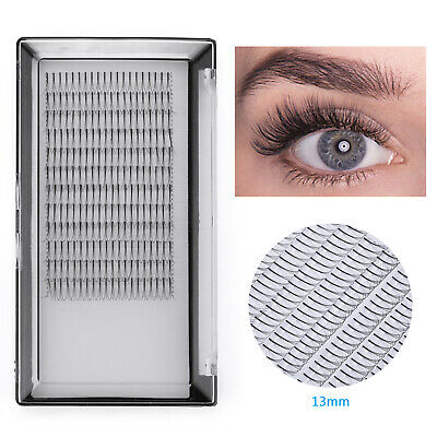 3D Russian Volume Individual Eyelash Extensions False Cluster Eye Lashes C Curl