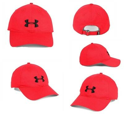 best service 00849 96f8b UNDER ARMOUR MEN S Red Cap UA Classic Fit One Size Red Baseball Hat -   16.10   PicClick