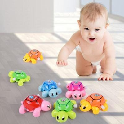 Cute Infant Baby Kids Animal Tortoise Turtle Clockwork Wind-Up Toys Education
