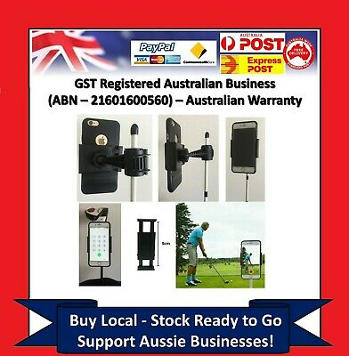 Golf Swing Holder Recorder Cell Phone Clip Holder Training Aid Trainer Practice