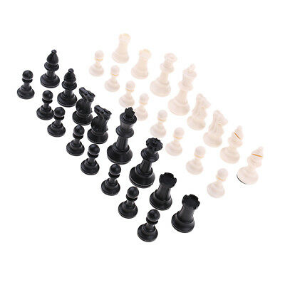 32x International Chess Game Chessman Chess Pieces 65mm King for Competition