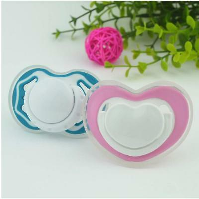 Baby Soother Dummy Nipple Pacifier Philips Avent Night Time Blue/Hot Pink 8C