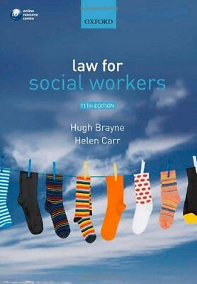 Law for Social Workers,Hugh Brayne, Helen Carr- 9780199575411