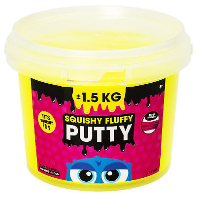 Squishy Fluffy Putty - gelb (NEU & OVP!)