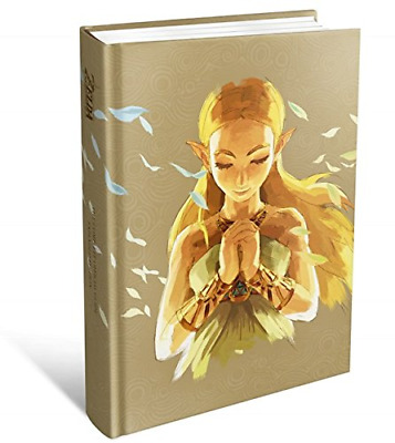 The Legend of Zelda: Breath of the Wild New The Official Hardback Book - Sealed