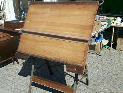 Vintage architect drawing board. Parallel motion. 1950s