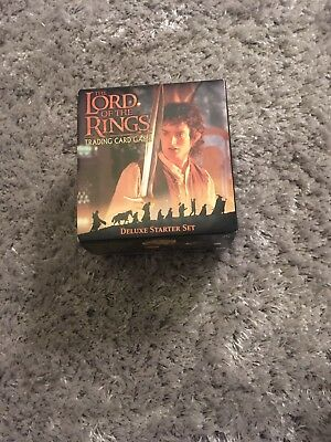 Lord of the Rings Trading Cards Game - Deluxe Starter Set - New & Sealed