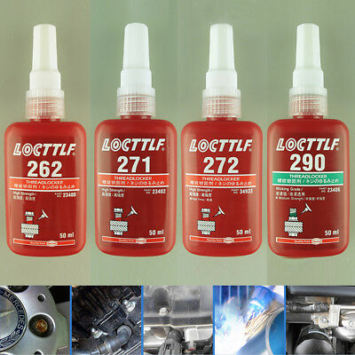 LOCTILF threaded fastening and rust and anticorrosive anaerobic spiral glue 262
