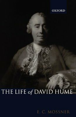 The Life of David Hume by Mossner  New 9780199243365 Fast Free Shipping,#