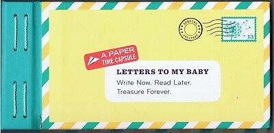Letters to My Baby Gift Keepsake Time Capsule Write Now Read Later Expecting