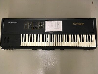 Ensoniq Mirage DSK-8 serial number E00001 1984 - VINTAGE SAMPLING KEYBOARD