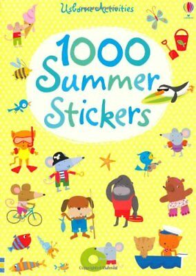 1000 Summer Stickers (Usborne Sticker Books) (1, Watt, Stella-Baggott+-
