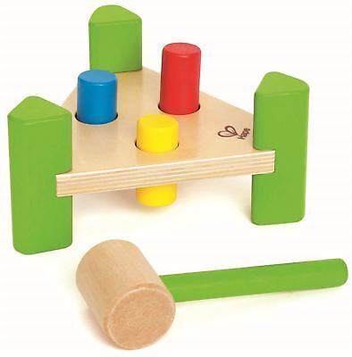 Hape LITTLE POUNDER Pre-School Young Children Toddler Wooden Toy Game BN