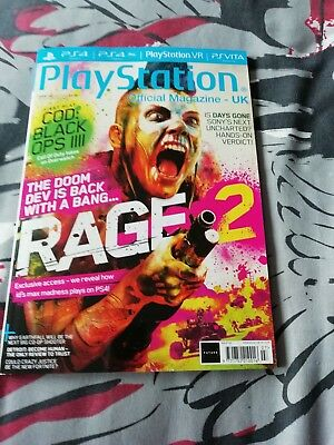 PLAYSTATION OFFICIAL MAGAZINE UK - ISSUE 150. 2018 With free poster