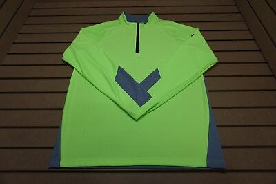 NEW Under Armour Golf  Pullover Mens Size Large  Green 85b