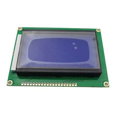 ST7920 128x64 12864 LCD Display Blue Backlight Parallel Serial Module for A F1Q9