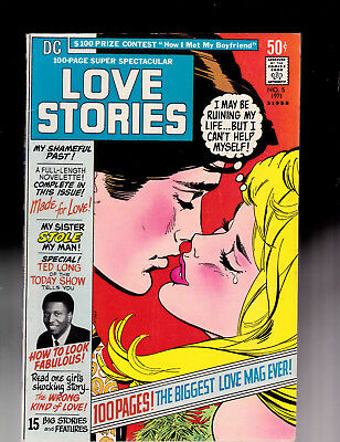 DC 100 page Super Spectacular 5 Love Stories High Grade Wally Wood art