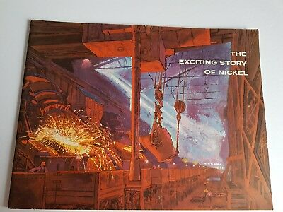 Vintage Booket The Exciting Story of Nickel INCO Nickel Company 1960