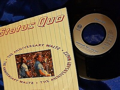 Status Quo:The Anniversary Waltz(Part one)/The Power of Rock single(878322-7)