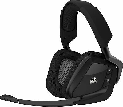 Corsair CA-9011152 VOID PRO Wireless Premium Gaming Headset RGB Dolby 7.1 Carbon