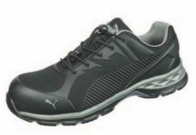 Puma Safety 643835 Fuse Motion 2.0 Black Low Mens Safety Toe SD Work Shoes 83c7b3493