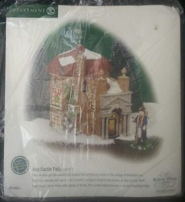 Dept, Department 56 Dickens Village  Hop Castle Foley NiB 4,603/5,600
