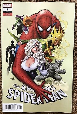 Amazing Spider-Man #1 Land Party Variant Marvel Comics Near Mint