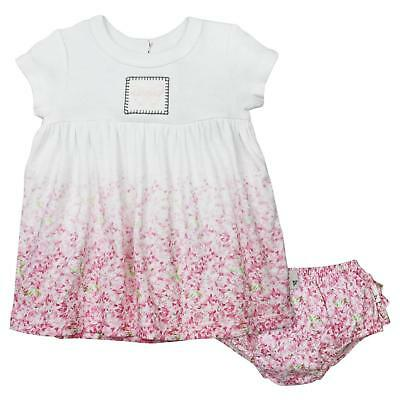 Burt's Bees Baby Ombre Waterlily Dress and Diaper Cover Set - 12 Months