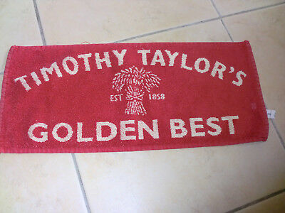 "Bar Towel ""Timothy Taylor's Golden Best"""