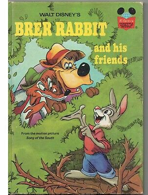 Brer Rabbit & His Friends Song of the South Disney's Wonderful World of Reading