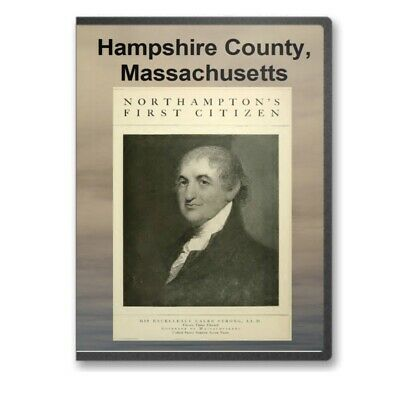 Hampshire County, MA Massachusetts History Culture Genealogy 19 Books - D303