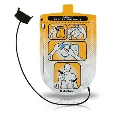 Adult Electrode Pads for use with DefibTech DDU-100 LifeLine AED Lot of 2.