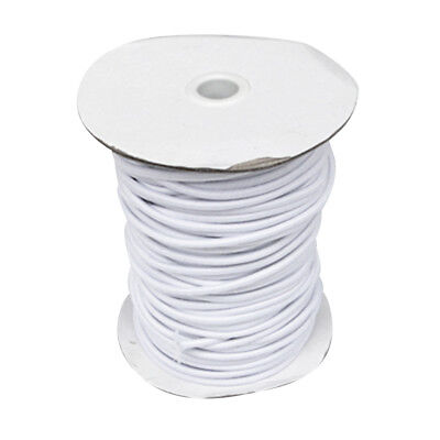 4mm 1m White Elastic Bungee Rope Shock Cord Tie Down Roof Rack Trailer Boat