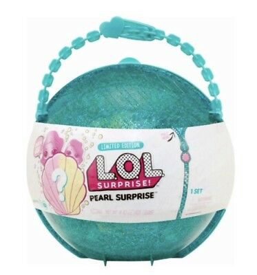 New LOL Surprise Limited Edition Pearl Teal Mermaid Mystery Big Set 2018 MGA