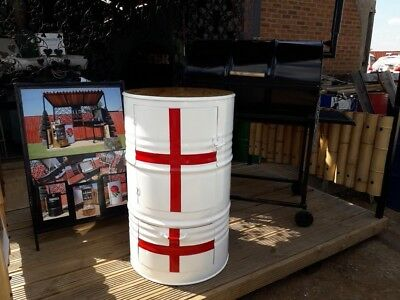 beer chiller Upcycled Oil drum ENGLAND