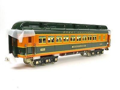 MTH Lionel Tinplate Great Northern Coach Passenger Car Standard Gauge 11-40061B