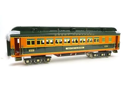 MTH Trains 11-40061A Lionel Corp Tinplate Great Northern Coach Passenger Car