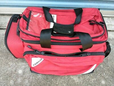 "Ferno 22"" Professional Trauma Bag, Red, MB5107 RED"