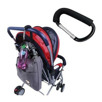Universal Mummy Buggy Clip Baby Pram Pushchair Stroller Hook Bag Holder 8C