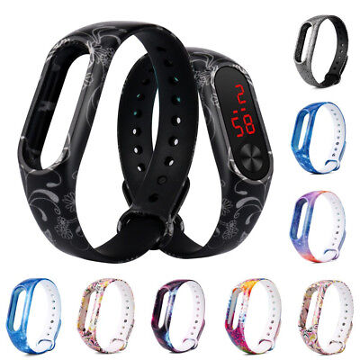 Replacement Silica Gel Wristband Band Strap For Xiaomi Mi Band 2 Smart Watch