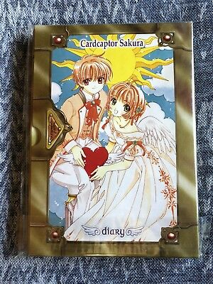Anime Card Captor Sakura Notebook Diary Travel Journal Vintage NOS Note Book