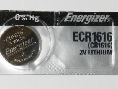 1 Piece Fresh ENERGIZER CR1616 BATTERY 3V LITHIUM CR 1616 DL1616 BR1616 EXP 2024