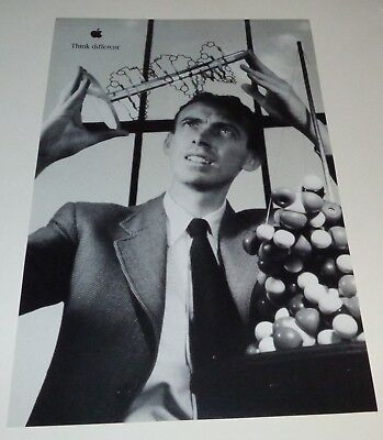 """APPLE """"Think Different"""" 11 x 17 POSTER - James Watson"""