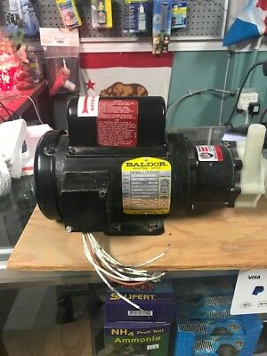 MARCH TE-5C-MD 5 Mag Drive chemical pump 1/8-1/5hp 18gpm