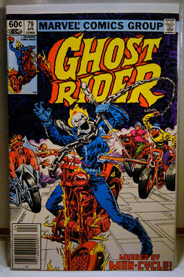 GHOST RIDER (1973) #79 Newsstand Variant SCARCE LOW PRINT RUN later issue MARVEL