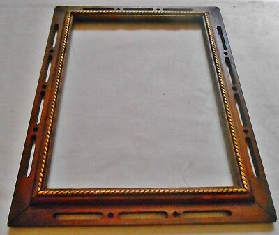 RARE Early 1900's  Antique Arts and Crafts  Mission Picture frame  Fits 9 x 12