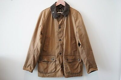 Men's Barbour Ashby IN RARE Bark COLOR Waxed Cotton SIZE XL - EUC!