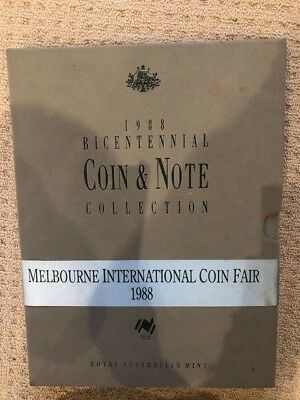 1988 Bicentennial Coin and Note Collection issued by the Royal Australian Mint