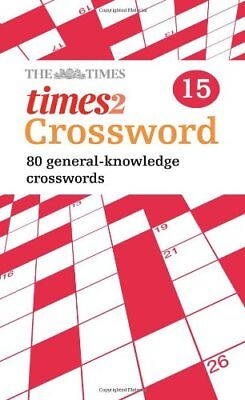 The Times Quick Crossword Book 15, Grimshaw 9780007368501 Fast Free Shipping+-